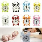 Lovely Fashion Cartoon Dial Number Round Desk Alarm Clock For Kid Home Decor