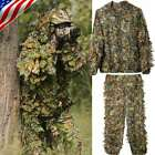 BIG SALE Ghillie Suit 3D Leafy Camouflage Clothing Jungle Woodland Hunting Gifts