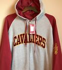 New Cleveland Cavaliers Men's Hoodie Size 2XLT Big & Tall Zip Hooded Sweatshirt on eBay