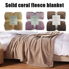 Weighted Blanket Sleep Deep Full Solid Color Soft Warm for Home Bedroom image