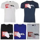 Diesel T-Diego QA Short Sleeve Crew Neck Mens T-shirt <br/> Clearance SALE --- 100% Satisfaction Guarantee
