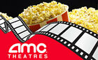 1 Black Movie Ticket 1 Large Popcorn 1 Large Drink at AMC Theaters Nationwide