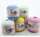 9 Ball X 50g Skeins Lace Yarn Soft Knitting DIY Hand Weave Thin Thread  Crochet £11.05 GBP on eBay