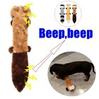 Cat Supplies Plush Raccoon Toy Molars Toothbrush Dog Chew Toys Vocalization