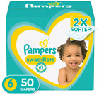 Pampers Swaddlers Disposable Baby Diapers Super Pack - Select Size & Count ✔️✔️