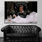 #16 Scarface Mob Mafia Gangster Movie Poster Canvas Ready to Hang Framed