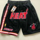 Miami Heat Basketball Shorts Men's Pants NWT Stitched on eBay