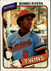 1980 Topps BB #s 1-100 MOSTLY STOCK PHOTOS (A4695) - You Pick - 10+ FREE SHIP