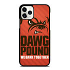 CLEVELAND BROWNS DAWG POUND iPhone 5/5S 6/6S 7 8 Plus X/XS XR 11 Pro Max Case $15.9 USD on eBay