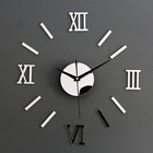 High quality Modern DIY Interior Roman Wall Clock Wall Clock 3D Sticker Home Mir