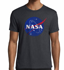 NASA Logo T-shirt Space TShirt Shuttle Rocket Science Soft Poly Blend 60/40  image