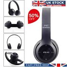 Wireless Bluetooth Headphones Foldable Stereo Headsets Super Bass Headset UK