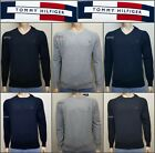 TOMMY HILFIGER  MEN'S CREW NECK  JUMPER
