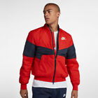 'Nike Mens Synthetic Fill Bomber Jacket Red Size S,m,2xl