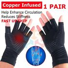 2pcs Copper Arthritis Compression Gloves Hand Support Joint Pain Relief USA $6.85 USD on eBay