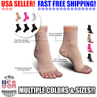 Copper Compression Support Ankle Sleeve Socks PLANTAR FASCIITIS Heel Valgus