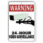 Warning Security Property 24 Hour Video Surveillance CCTV Cameras Sign Or Decal $9.79 USD on eBay