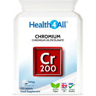 Health4All Chromium Picolinate 200mcg Tablets | BLOOD SUGAR | WEIGHT LOSS
