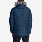 Authentic Eddie Bauer Mens Boundary Pass Parka Faux Fur Hooded_REGULAR NEW