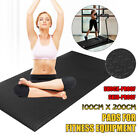 79''x40'' EVA Exercise Equipment Treadmill Fitness Mat Gym Bike Protect   image