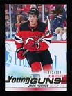 2019-20 Upper Deck Young Guns UD Exclusives 2/100 Jack Hughes #201 Rookie RC