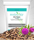 Herbal Liver Support, Antioxidant M.thistle in Veggie Capsules Nutrivity UK Made