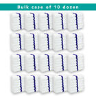 Gym Hand Towels 16 x 27 Packs of 12 Absorbent Cotton Striped Workout Spa Towels