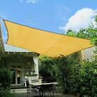 Внешний вид - Sun Shade Sail Canopy Rectangle Sand Uv Block Sunshade For Backyard Deck Outdoor