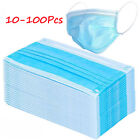Kyпить 3-Ply Ear Loop Mask 10-100 Pack Disposable Face Mouth Dust Mask Virus Anti-Flu на еВаy.соm