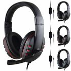 '3.5mm Gaming Headset Stereo Surround Headphone With Mic For Ps3 Ps4 Xbox One 360