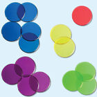 Transparent Color Round Counting Plastic Chips by Baby Learn Resource QK