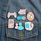 Cute Computer Game Machine Enamel Brooch Pin Bag Lapel Badge Decoration Novelty