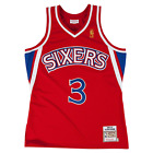 Allen Iverson Philadelphia 76ers Hardwood Throwback Rookie NBA Authentic Jersey on eBay