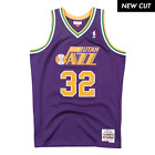 Karl Malone Utah Jazz Hardwood Classics Throwback NBA Swingman Jersey on eBay