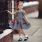 Kids Baby Girls Princess Dress Infant Wedding Pageant Birthday Party Dress Gown