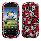 Two Piece Hard Snap on Design Protective Cover Case for Galaxy i400 Continuum