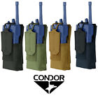 Condor Tactical MOLLE PALS Patrol Handheld Radio Walkie Talkie Comm Pouch 191223