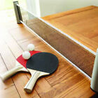Kyпить 2020 Clip on Table Tennis Kit Ping Pong Set Retractable Net Rack Portable Sports на еВаy.соm