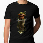 Star Wars Baby Yoda Water Mirror Reflection Men Black T Shirt $21.99 USD on eBay