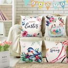 Eplst Set Of 4 Easter Throw Pillow Covers Happy Easter Spring New Life Pillowcas