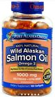 Pure Alaska Omega-3 Wild Alaskan Salmon Oil 1000mg, 180 Softgels *HEART HEALTH*