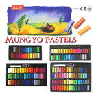 Mungyo Soft Pastels Non Toxic Square Chalk 24 32 48 64 Colors / Made in Korea