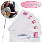 100PCS 50PCS Ultra Early Pregnancy Tests Strips Urine Test Kit Over 99 Accurate