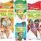 PACK OF 3  FACE MASKS , PAMPER DETOX PARTY FUN NIGHT GIRLS GIFT ANIMAL DETOX