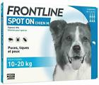 FRONTLINE SPOT ON Flea, Tick & Lice Treatment For S,M,L,XL Dogs & Cats (AVM-GSL) <br/> UK Seller - FREE P&P - 1,2,3,4,5 & 6 Pipettes - NEW