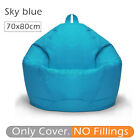 Bean Bag Couch Chair Sofa Cover Indoor Outdoor Gamer Lazy Lounger For Adult Kids