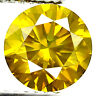 0.83ct WOW DAZZLING VIVID INTENSE FANCY YELLOW DIAMOND VVS EARTH MINED DIAMOND!
