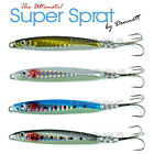Dennett Super Sprat Sea Fishing Lures Jig Spinners UV Sea Trout Bass Mackerel