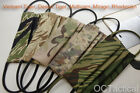 Face Mask Tiger Stripe, Rhodesian, Multicam, Mirage, AMCU, A-Tacs Ghost Camo