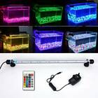 Aquarium Fish Tank LED Light 5050 SMD RGB White Blue Strip Light Bar Lamp Lights